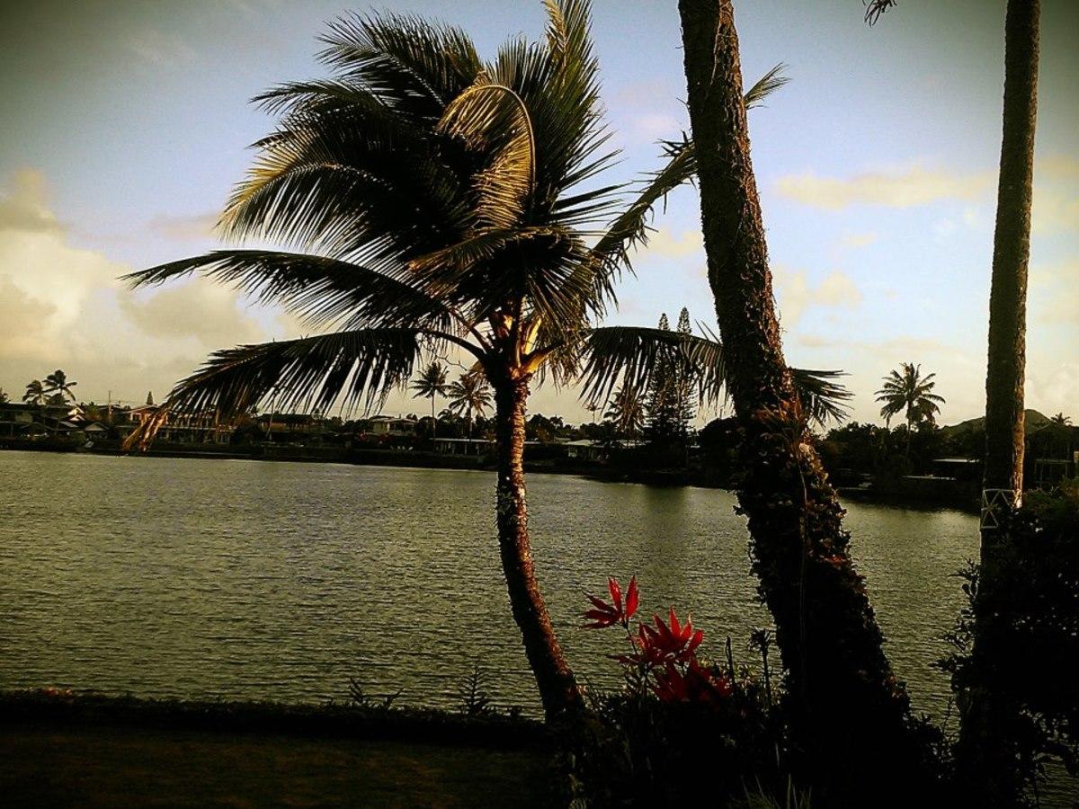 Kailua, Hawaii on the Island of Oahu