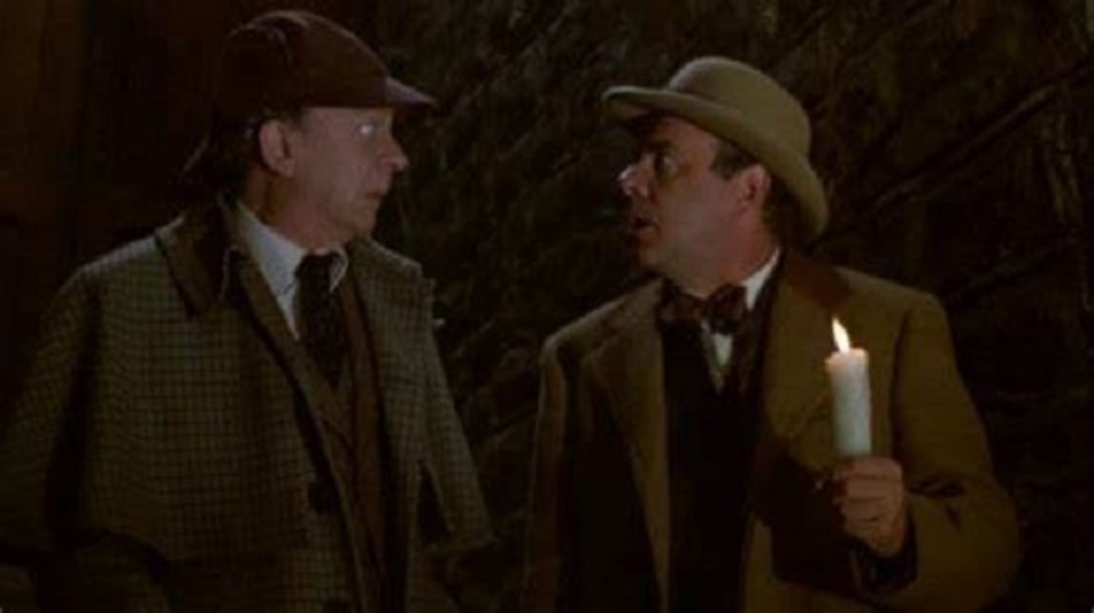 Don Knotts and Tim Conway as Inspector Winship and Dr Tart ...