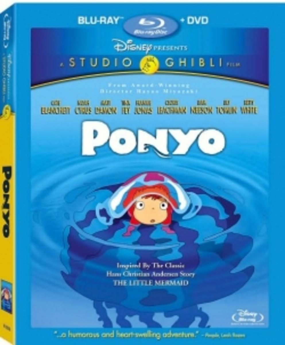 Ponyo Blu-ray Disc