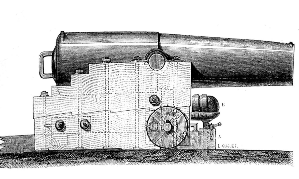 Paixhans, the inventor of the shell-firing naval cannon, was much inspired by François Fabre