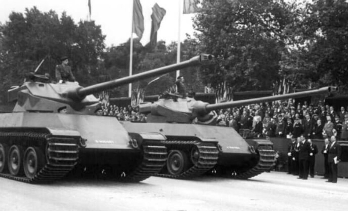 The AMX 50 100 - later evolving into the AMX 50 120 and various variants