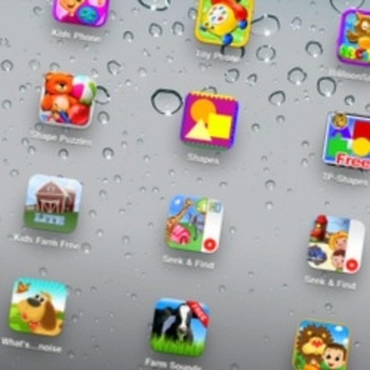 Ten More Free Toddler iPad Apps