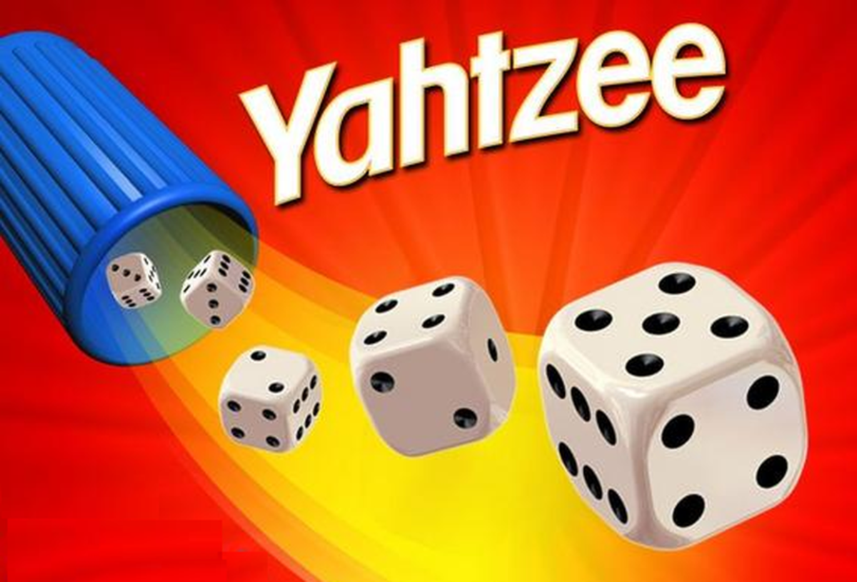 """In 1956, yahtzee—a dice game made by Milton Bradley—was all the rage. CardGames.io tells us that """"The objective of YAHTZEE is to get as many points as possible by rolling five dice and getting certain combinations of dice."""""""