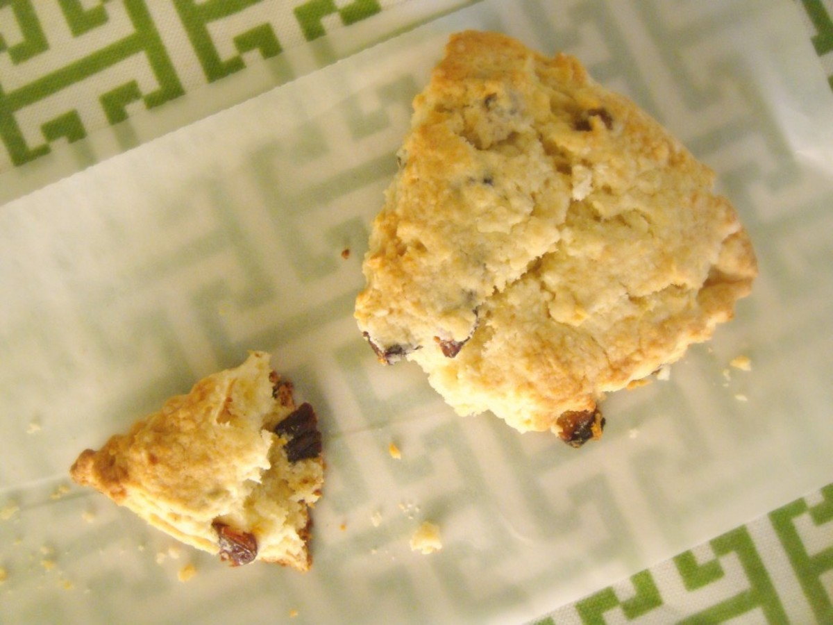 Light & Flaky Fig Yogurt Scone