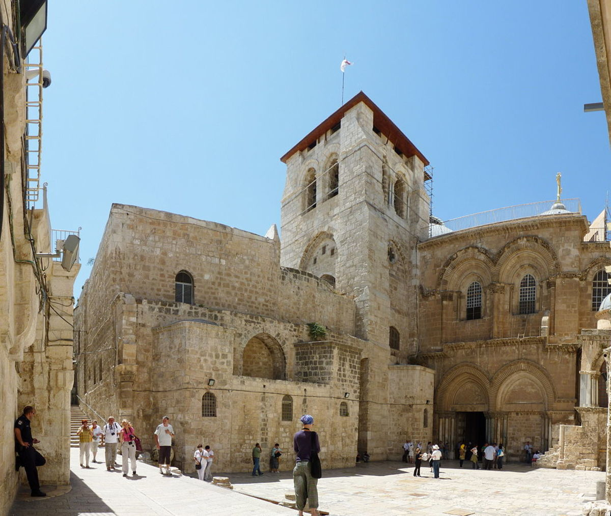 VISIT JERUSALEM: The Church of the Holy Sepulchre and the Via Dolorosa