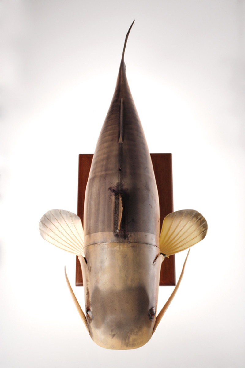 The CIA's Robot catfish. They have yet to make it edible.