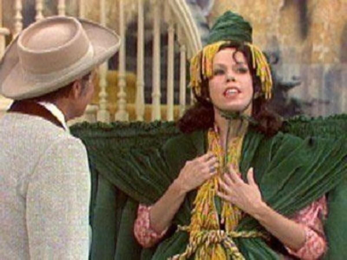 Carol Burnett - Gone with the Wind skit, hilarious ...