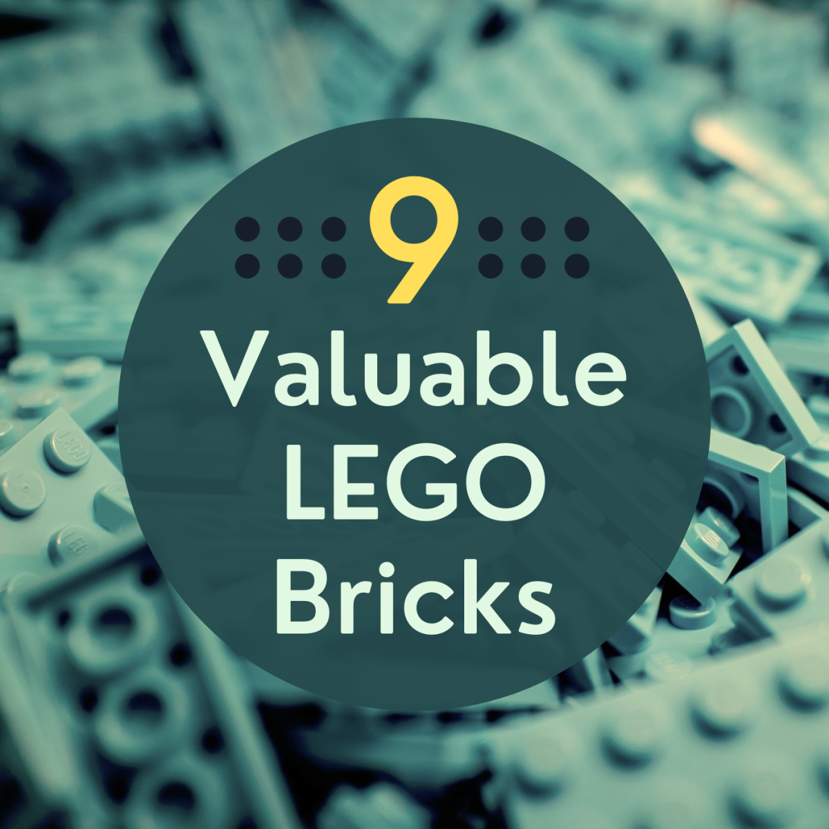 9 Really Expensive Lego Parts and Pieces