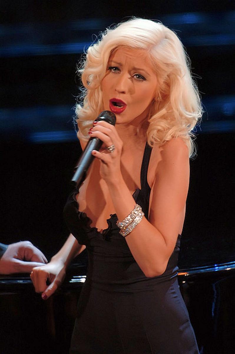December 18: Christina Aguilera.