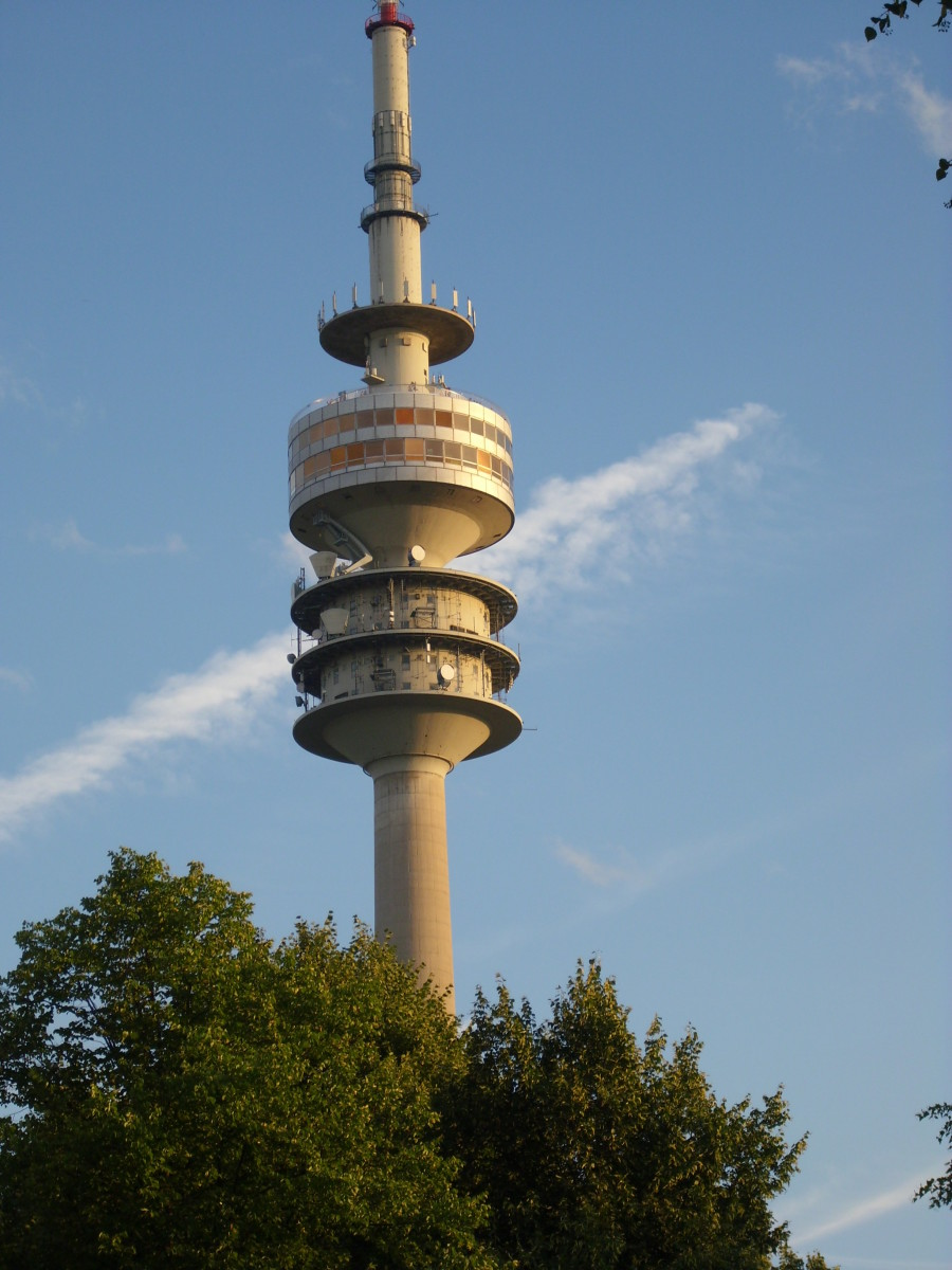 Fernsehturm, Olympiagelaende in Munich