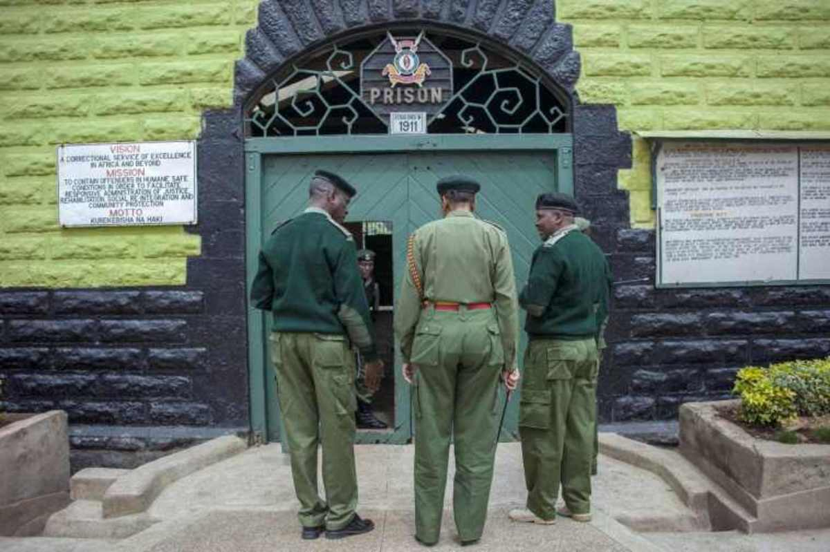 Welcome to Industrial Area Remand Prison; Where Survival is for the Fittest