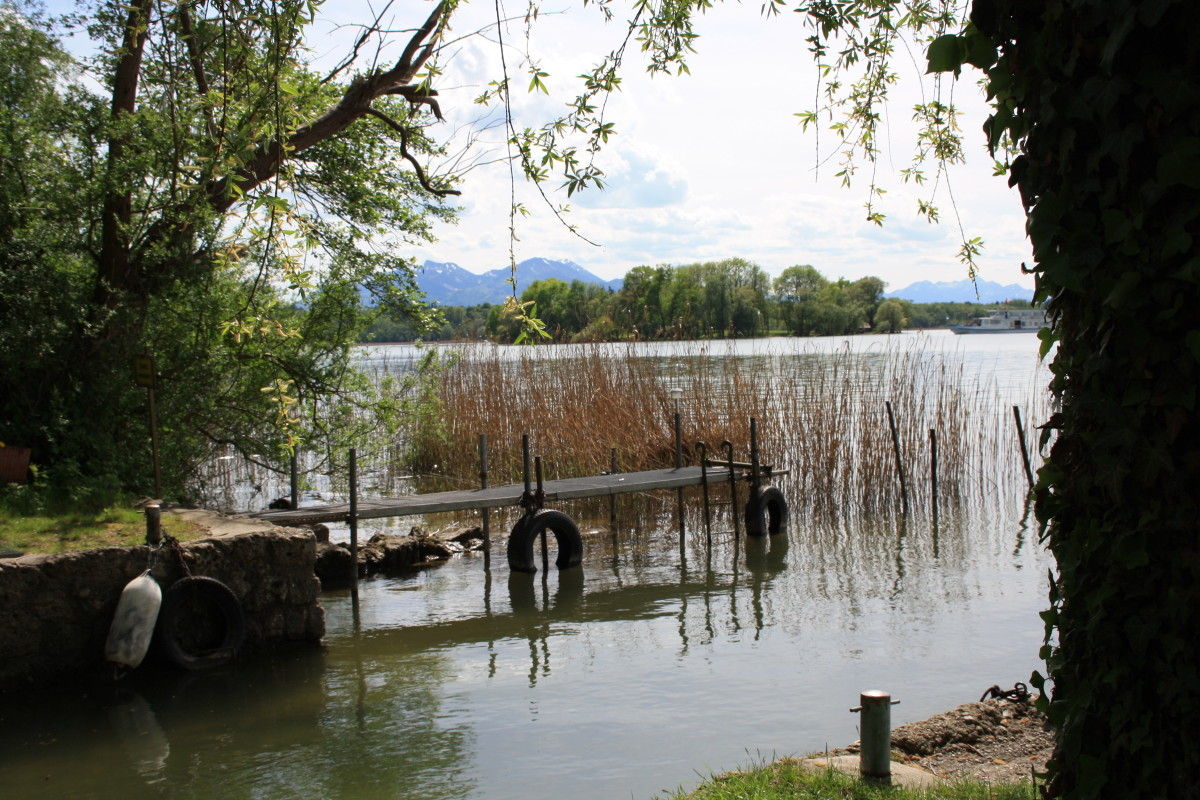 The Oase of peace at Chiemsee.