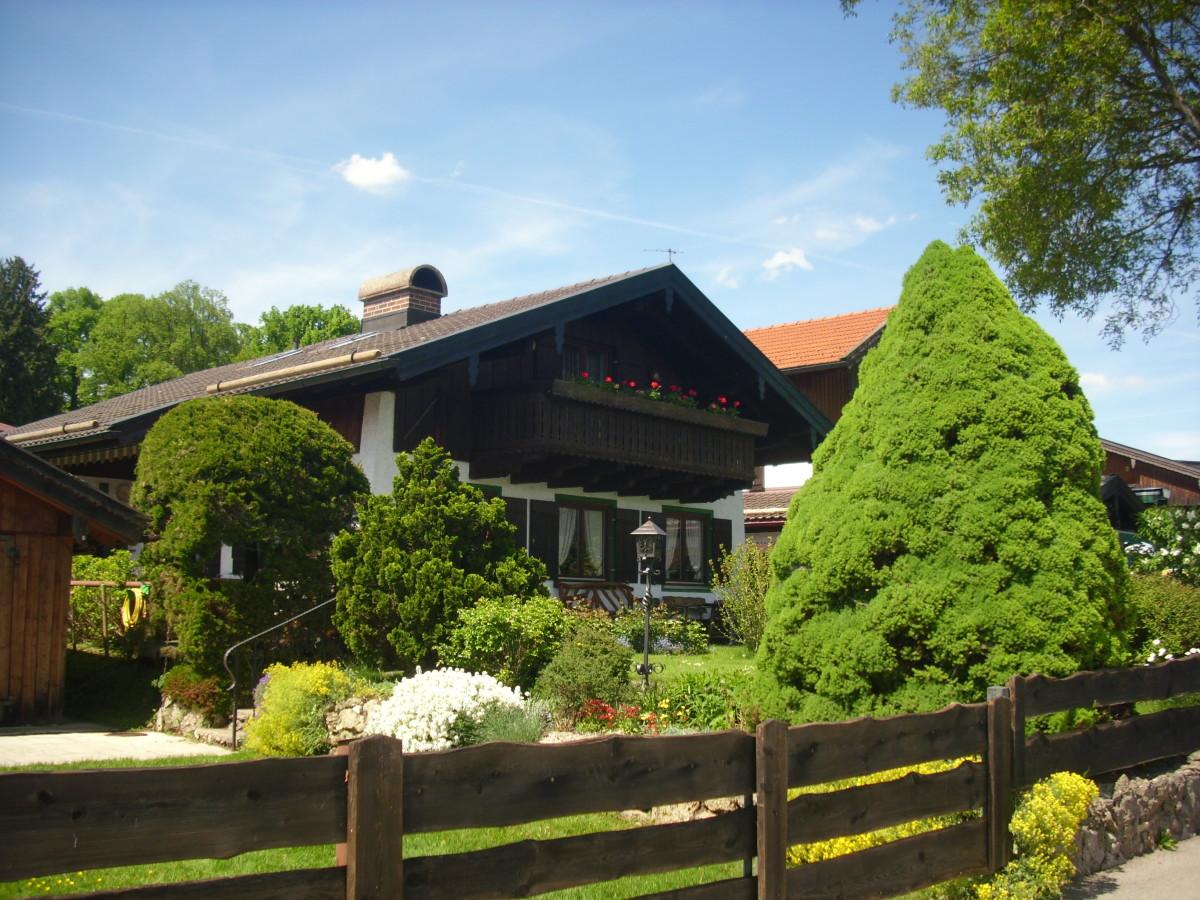 Traditional Bavarian house.