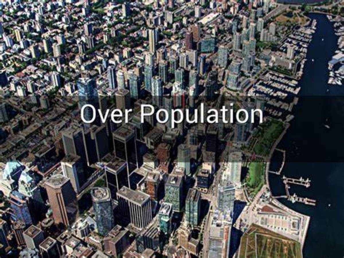Does The World Purge Its Self From Over Population?