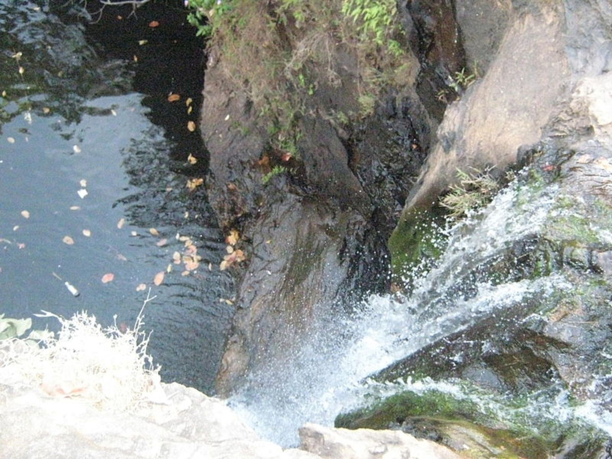 Apsara Falls at Pachmarhi Hill Resort