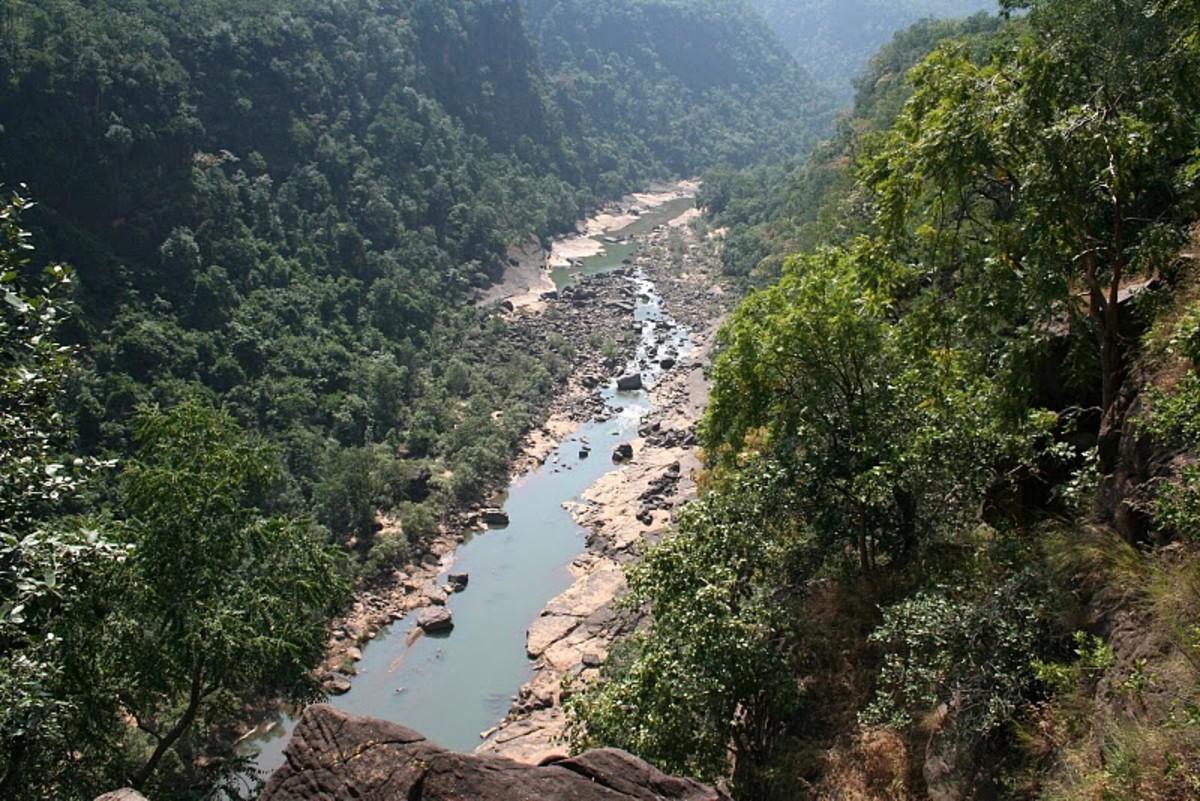 Gorge at River Denwa
