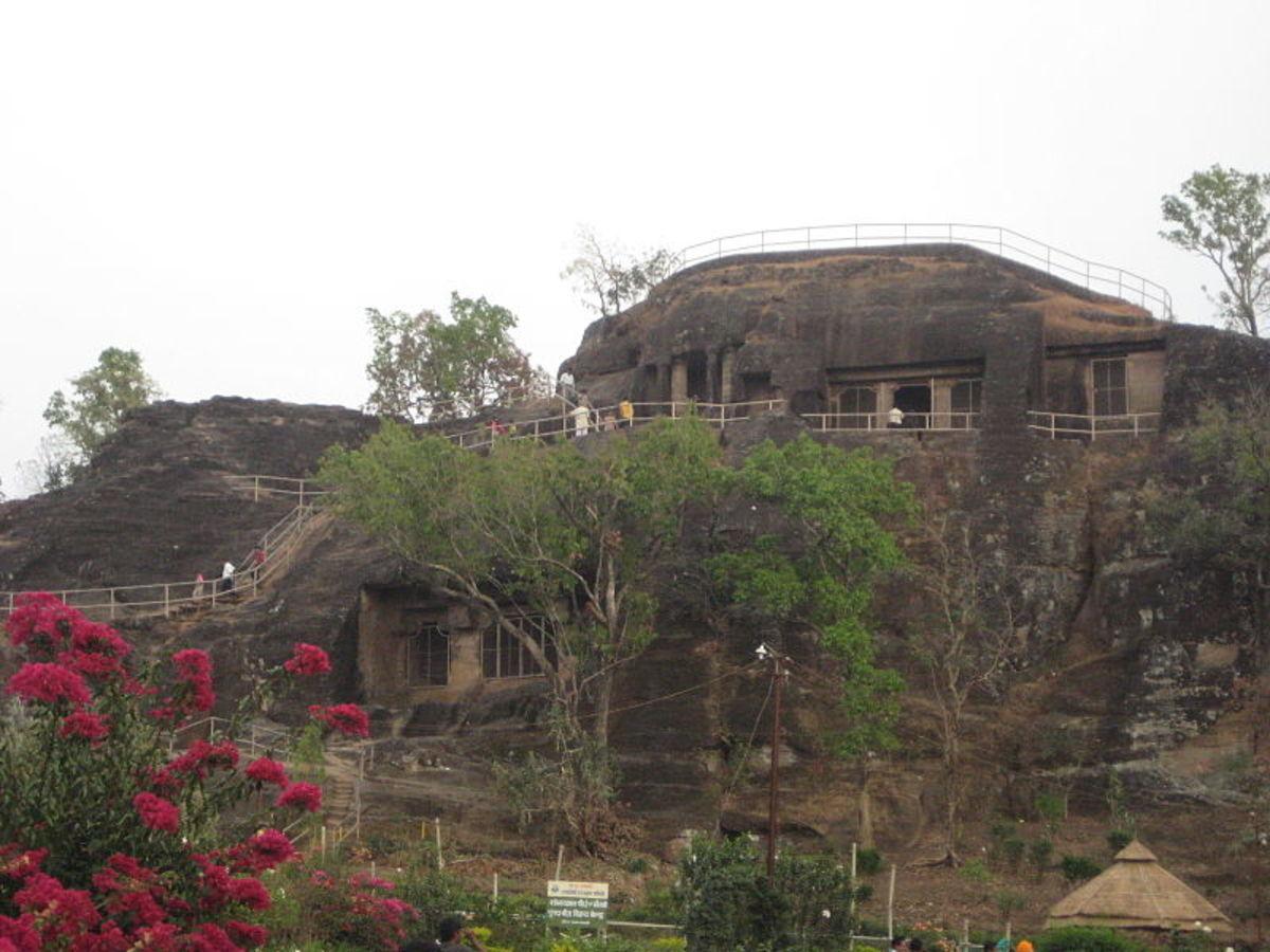 Pandav Caves at Pechmarhi