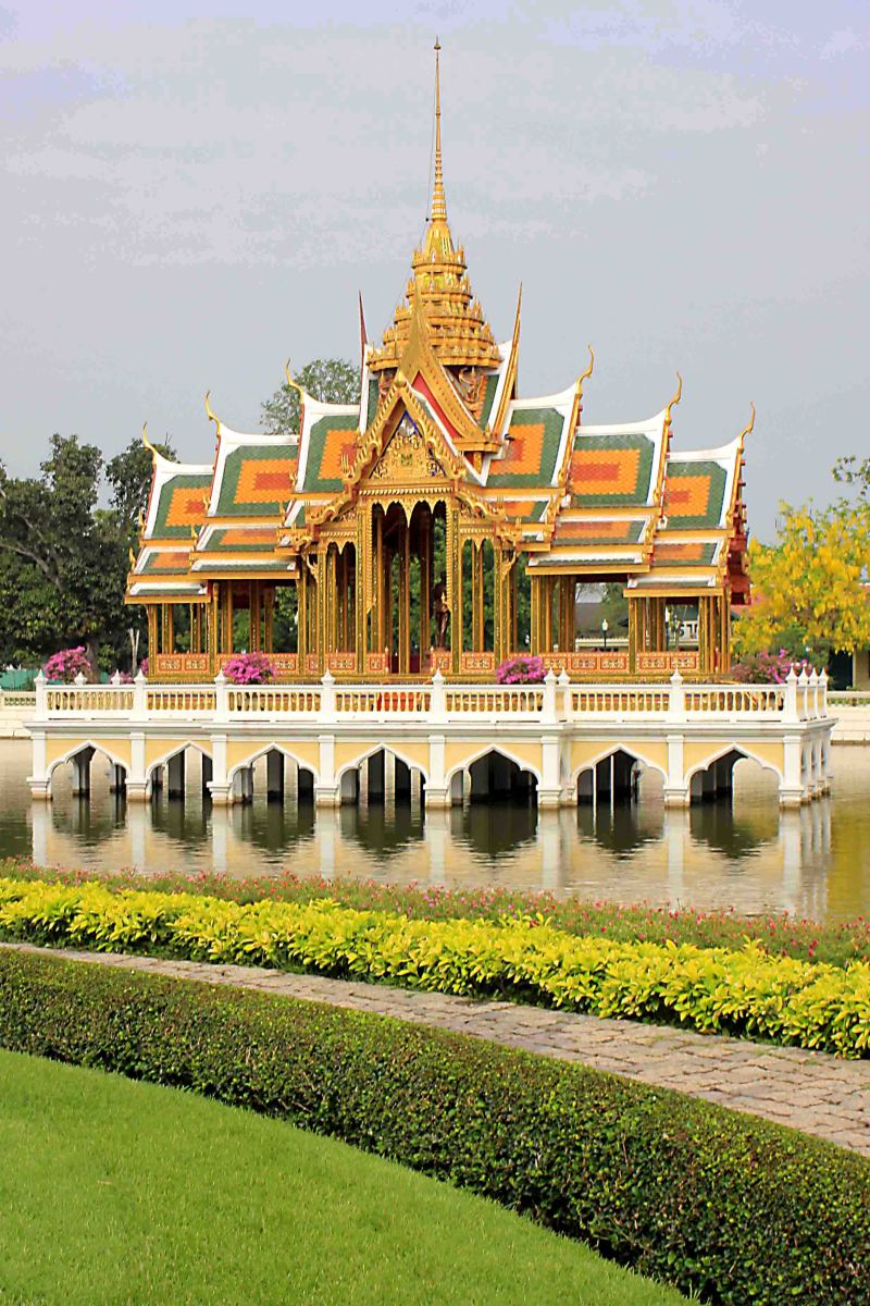 Bang-Pa In - once the Summer Palace in the Kingdom of Ayutthaya