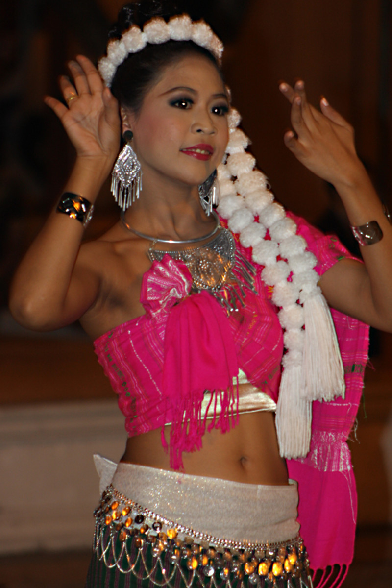 A traditional Thai dancer. Thais are rightly proud of their culture, though it is a culture derived from many regional influences over the centuries of settlement