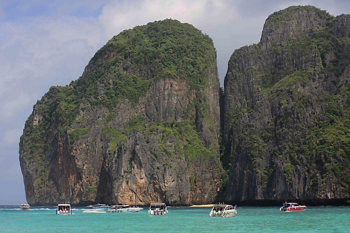 The beautiful Phi Phi Islands