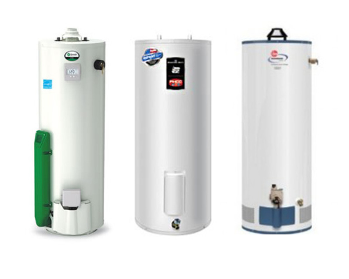 Water heaters should be replaced every 10 or so years.