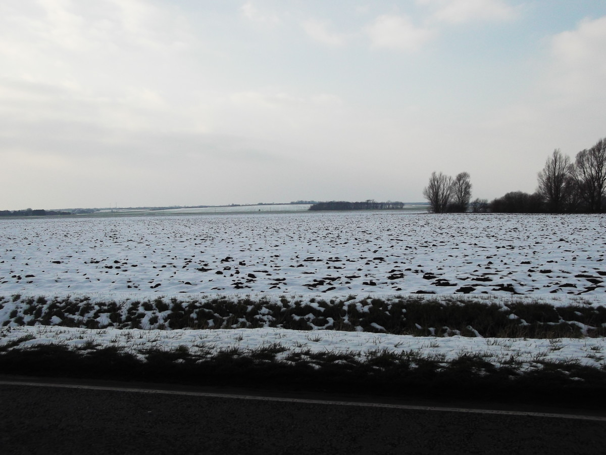 Fenlands winter weather is cold as it gets the Siberian wind from Europe