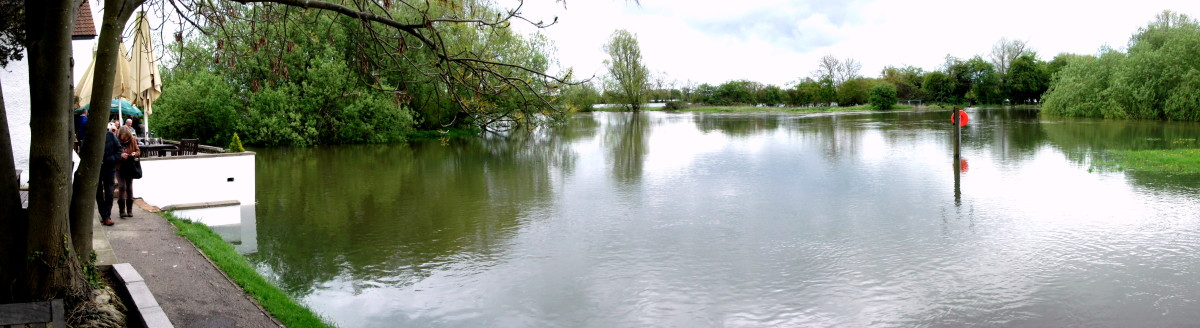 Flooding is becoming more common in Britain.