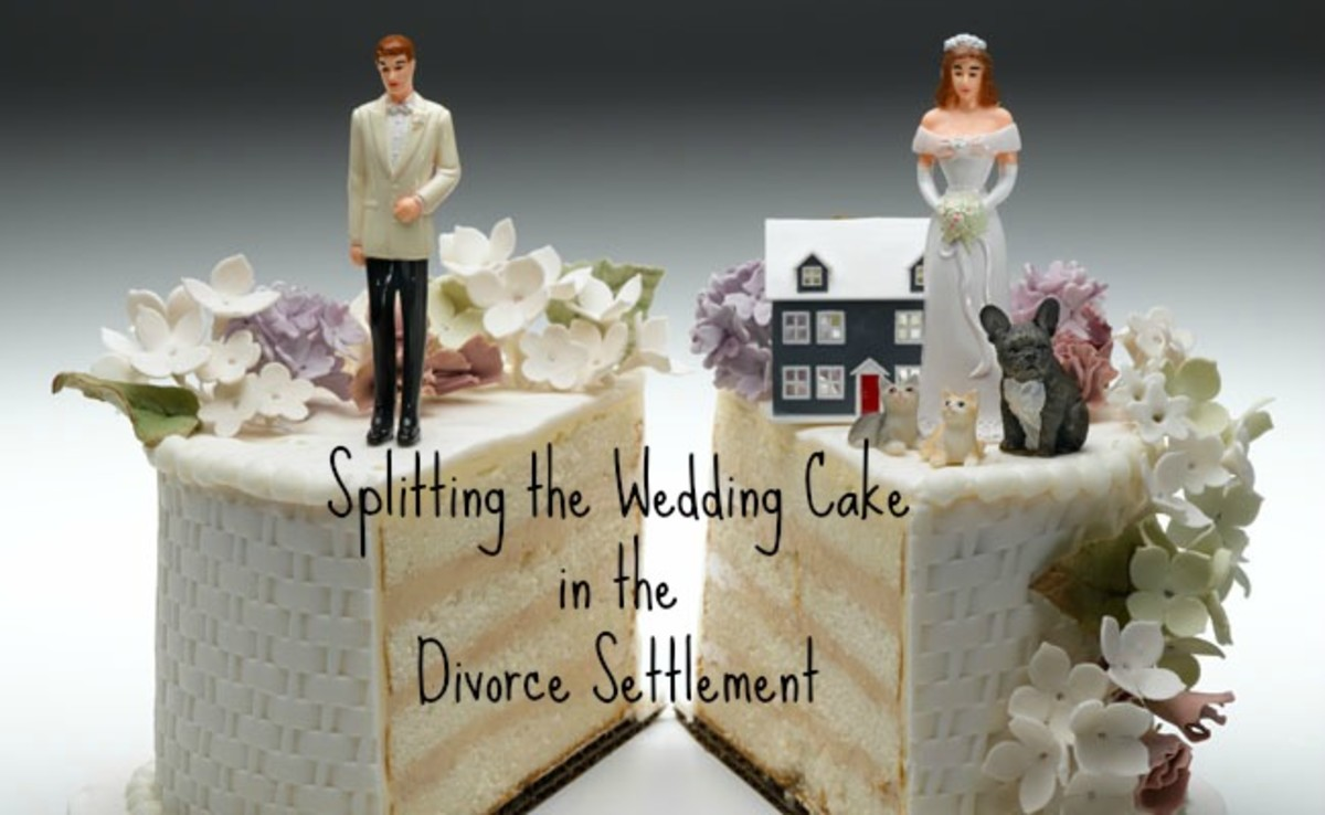 Funny Divorce Quote: Include the Frozen Wedding Cake in the Freezer in Your Divorce Settlement