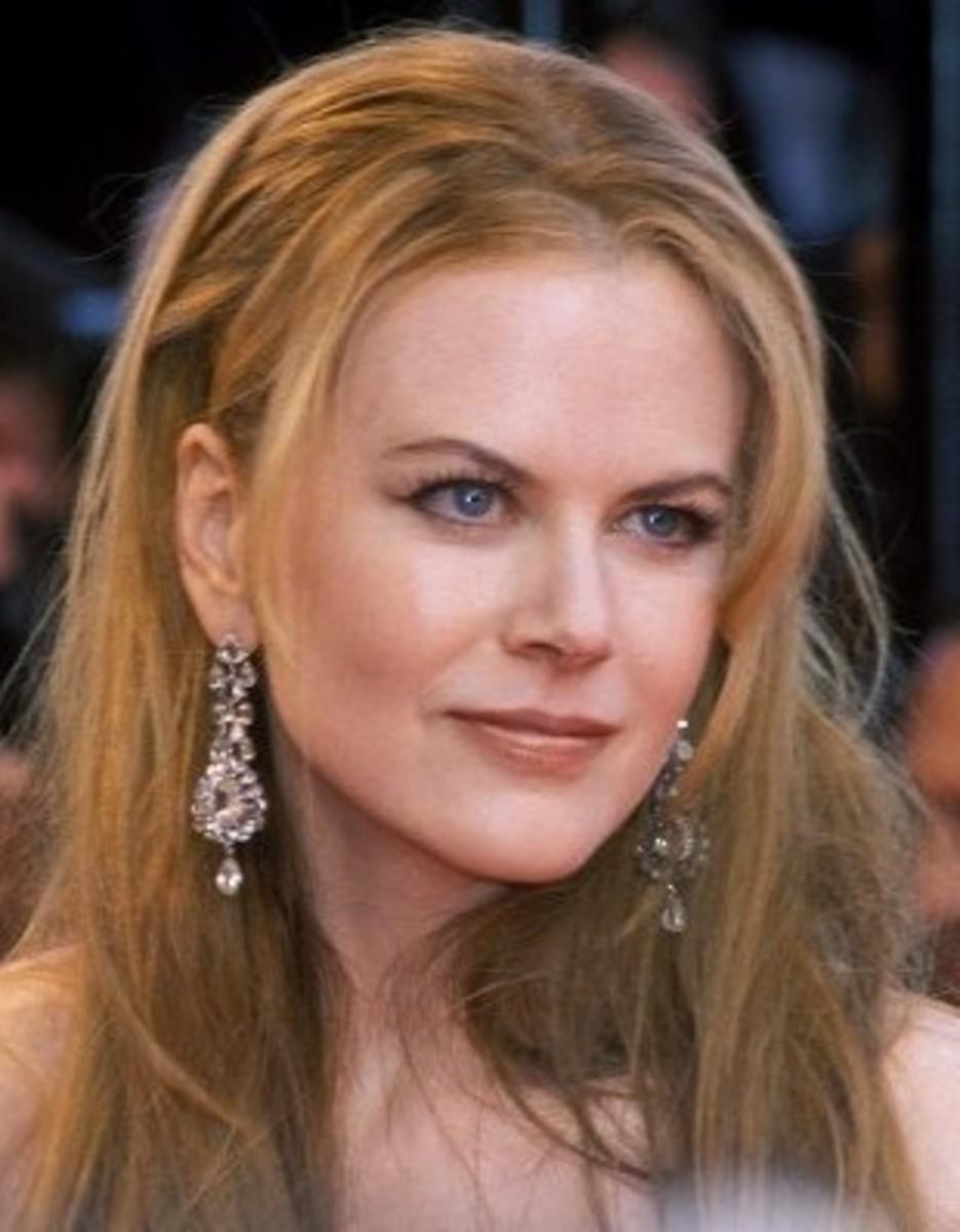 Nicole Kidman speaking about her divorce