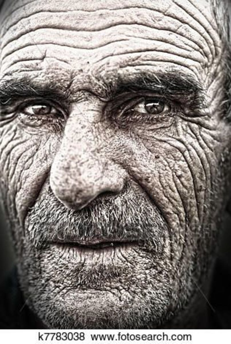 Will excessive smoking cause one's face to  have wrinkles?