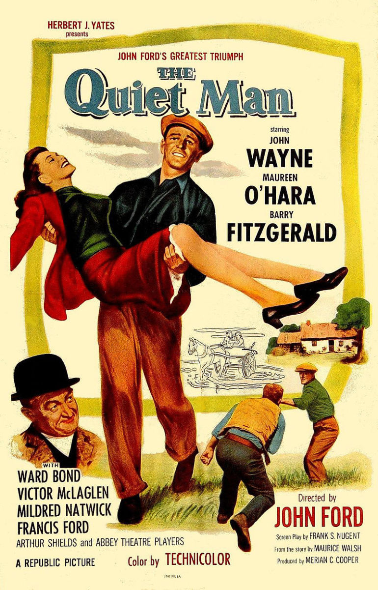 The Quiet Man Theatrical Release Poster