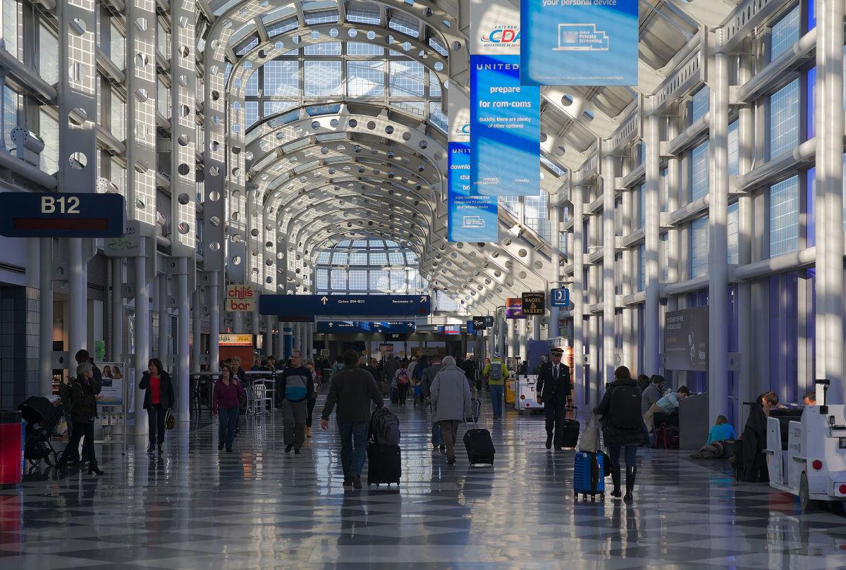O'Hare International Airport Terminal.