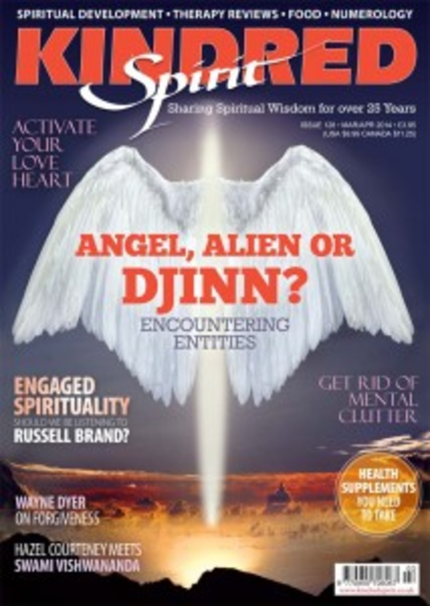 The issue of Kindred Spirit magazine from which this story was taken