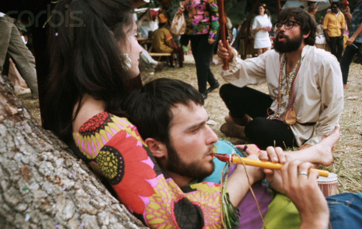 Hippies contributed to the culture of our country by having arts and crafts fairs.