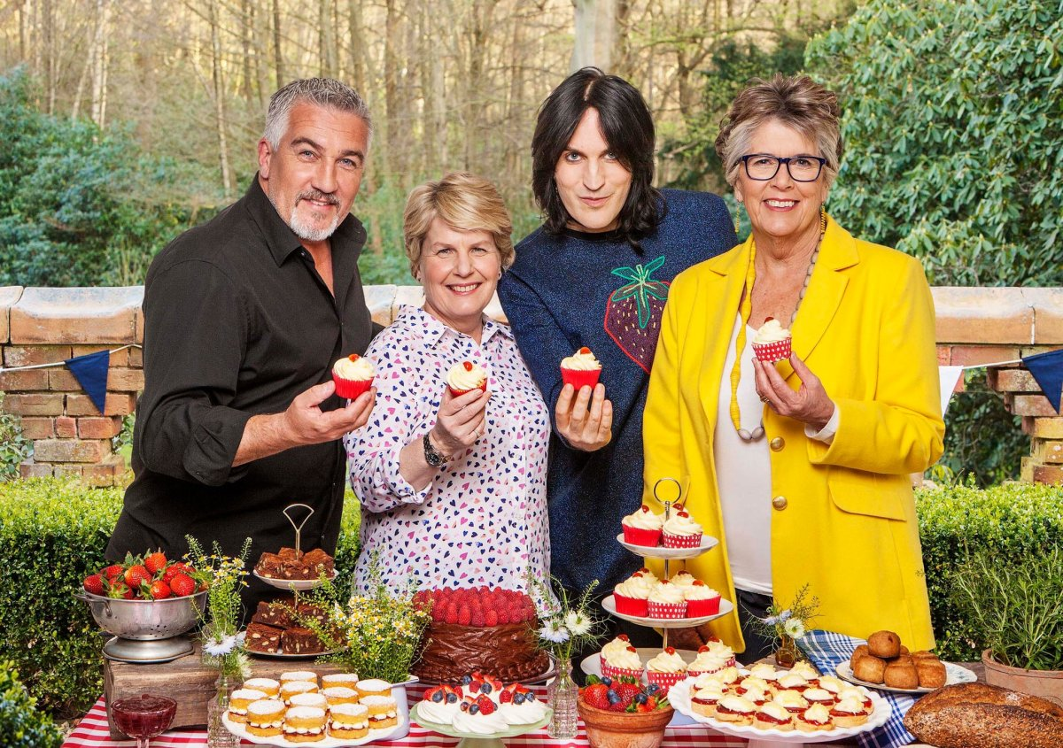 """""""The Great British Baking Show"""" is my favorite!"""