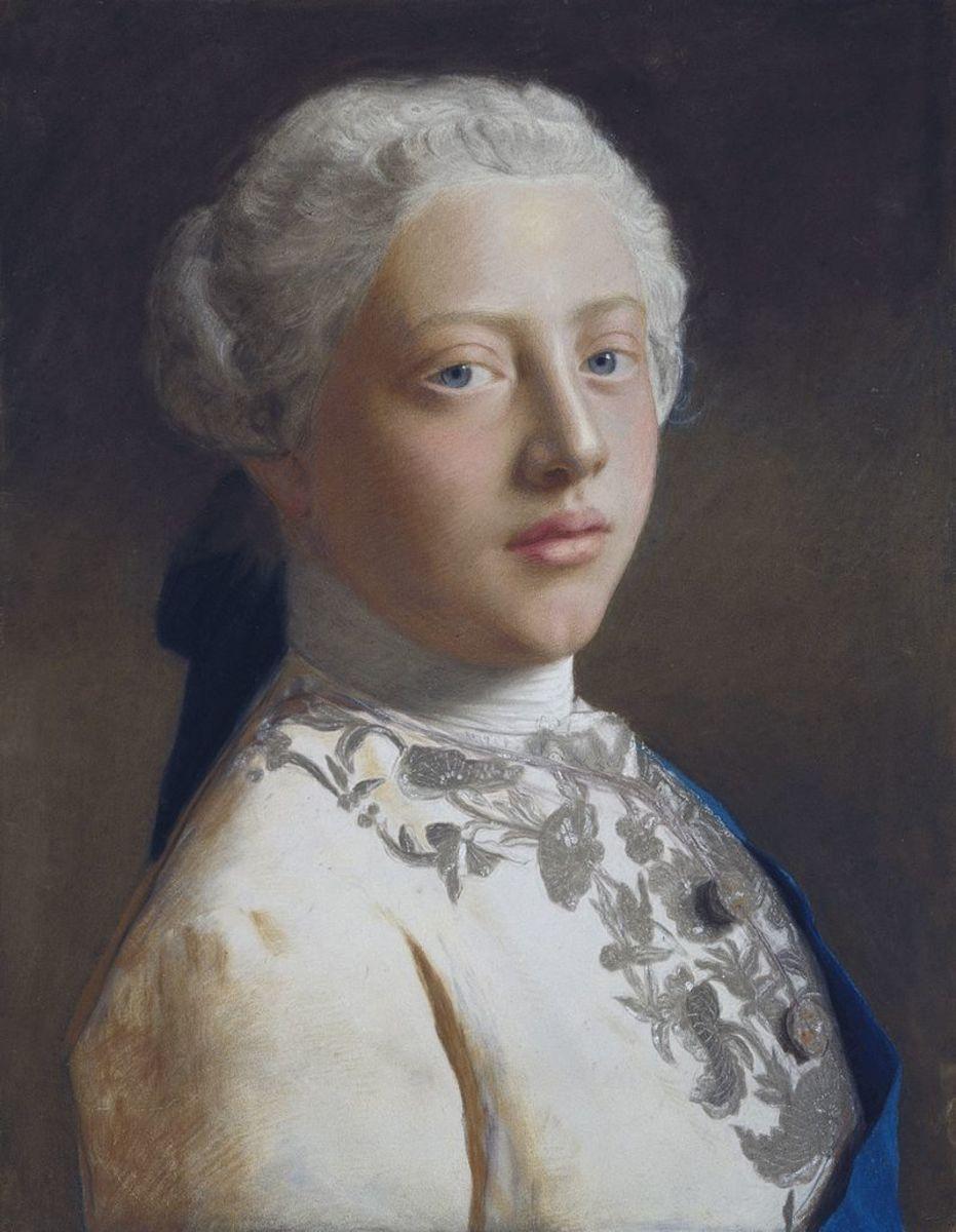 George as Prince of Wales, 1754.