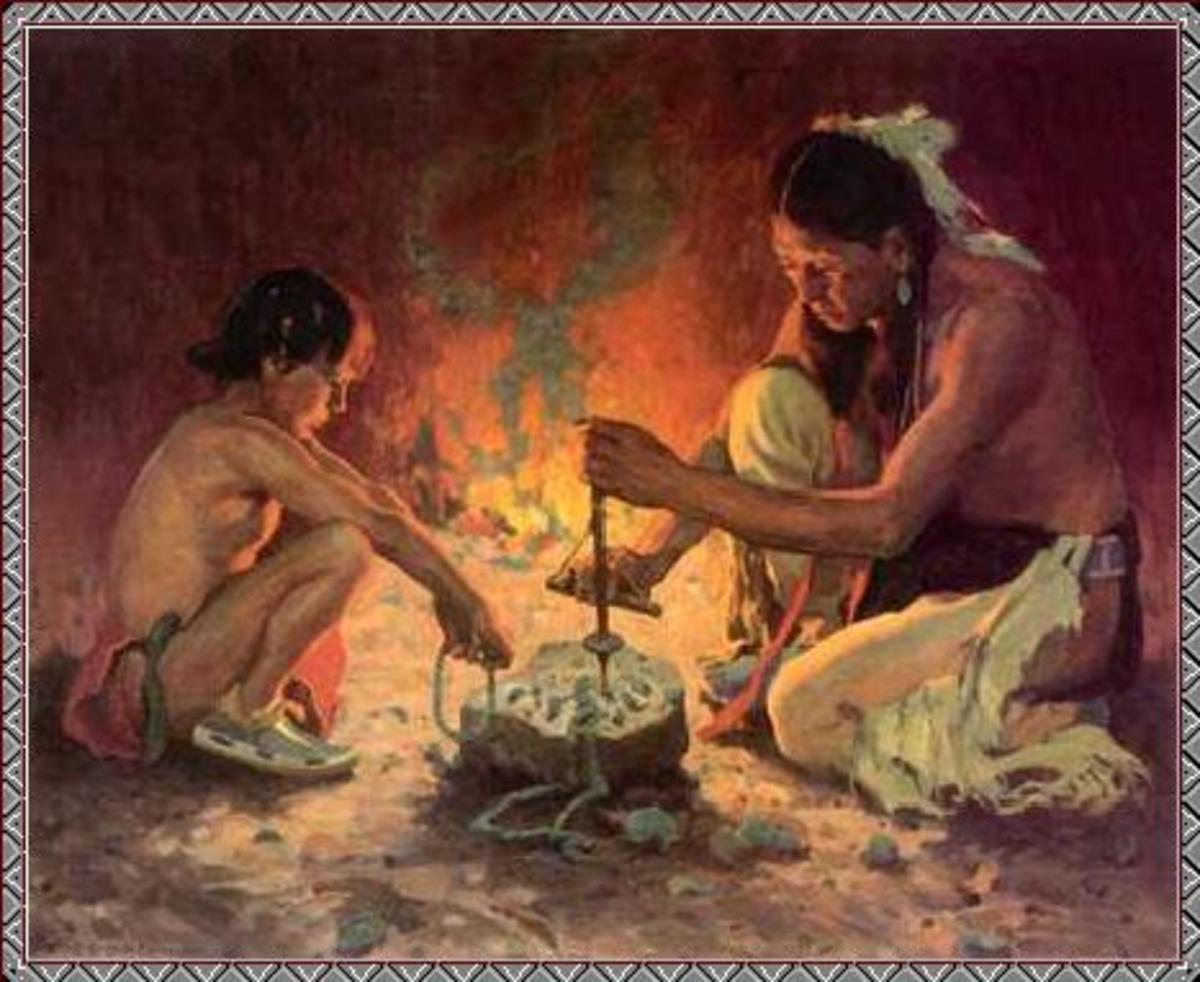 The Cherokee Stomp Dance