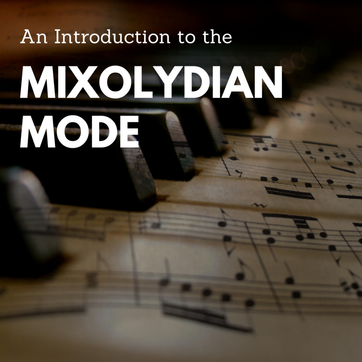 Learn more about this type of diatonic scale.