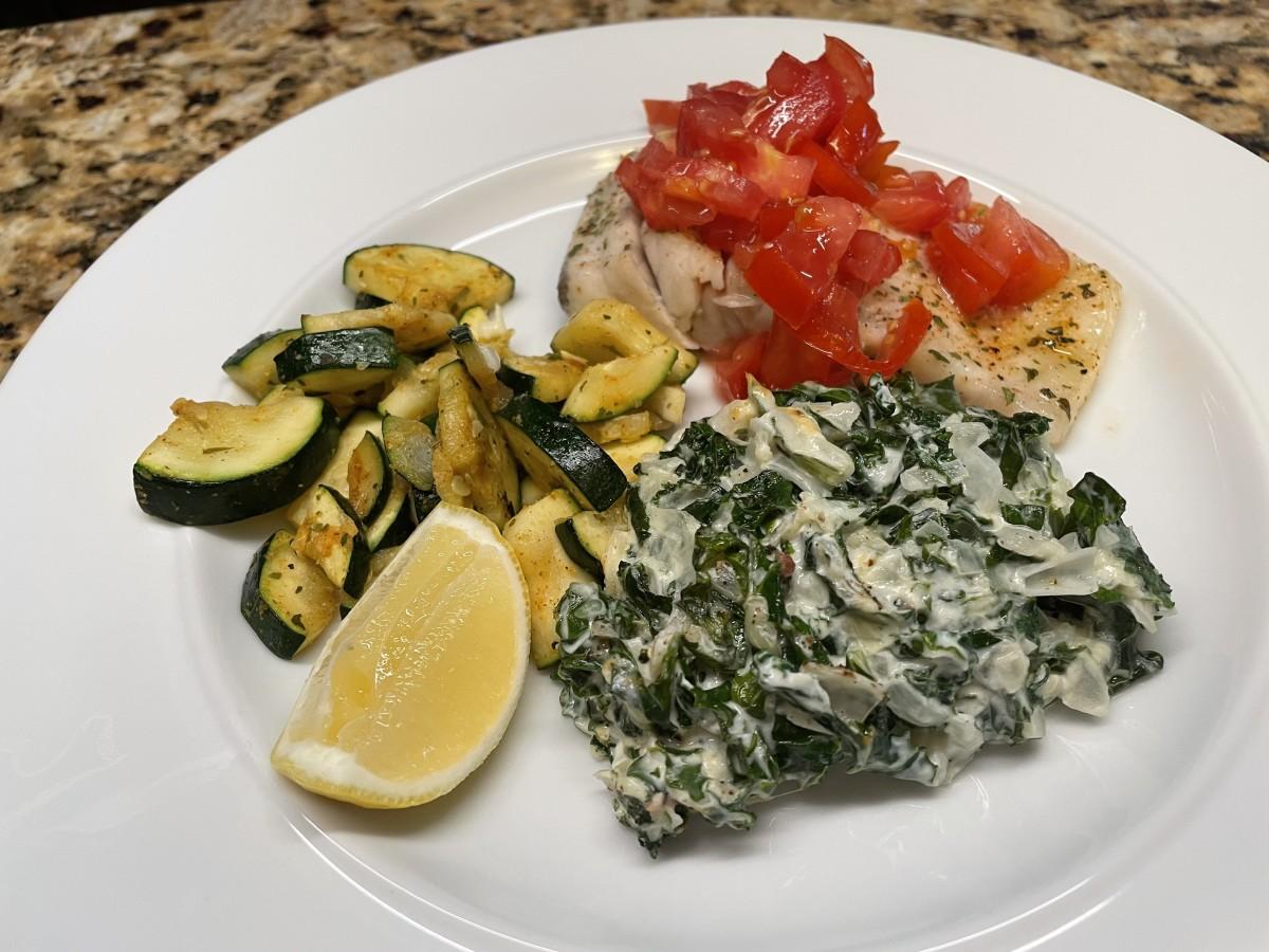 Creamy Kale Side Dish