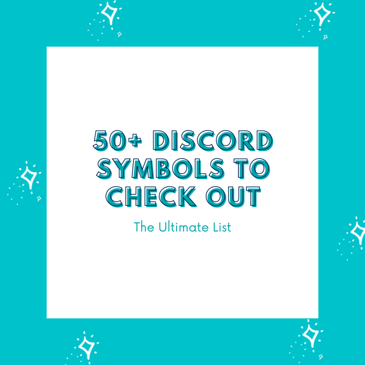 In this guide, discover over 50 Discord symbols and text emoticons to try out!