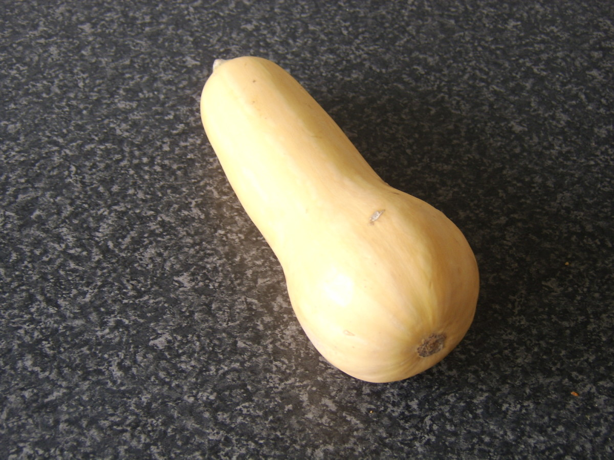 A Whole Butternut Squash