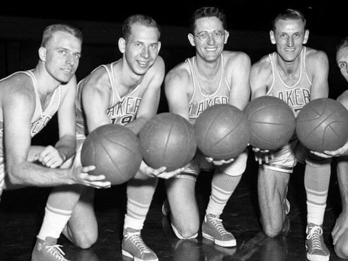 In 1953, the Minneapolis Lakers were the NBA champs.