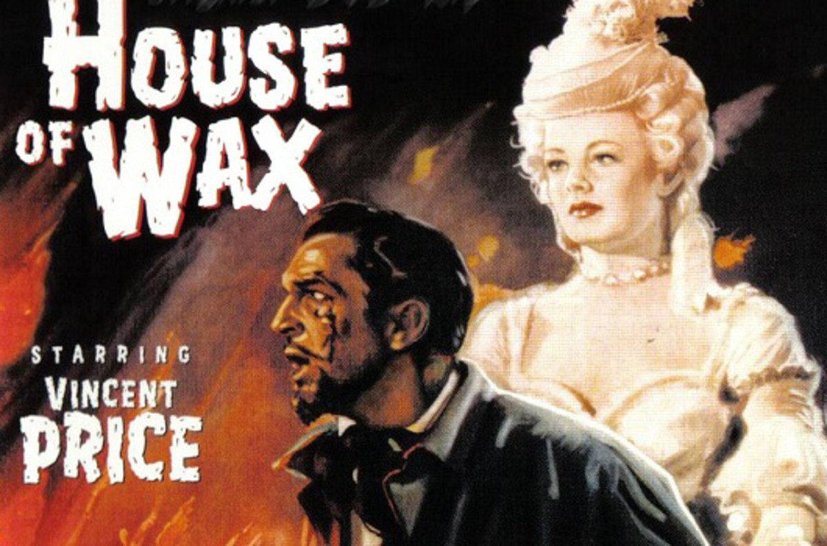 In 1953, House of Wax was a popular horror film. A gang of college friends are en route to a school football game when they wind up with a flat tire in a ghost town. They are forced to seek help in the only place that's open: the local wax museum.