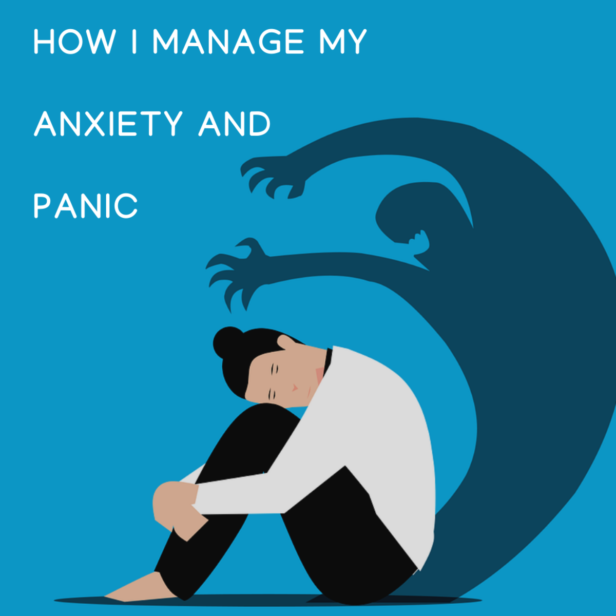 Here are some tips for dealing with anxiety from a PTSD sufferer. They don't cure anxiety, but they often work for me to short-circuit the symptoms in mid-freak-out.
