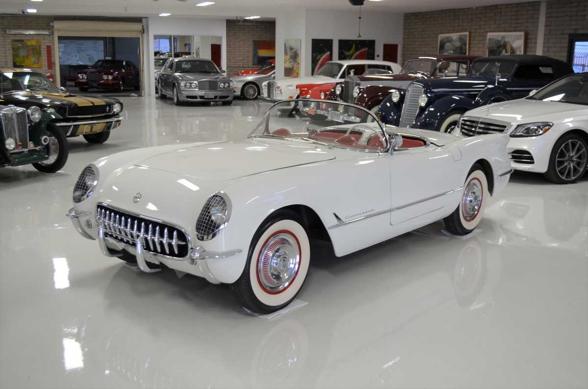 In 1953, the first hand-assembled Corvette came off the assembly line in Flint, Michigan. A 1953 Corvette cost $3,490, or $33,758 in 2020 dollars.
