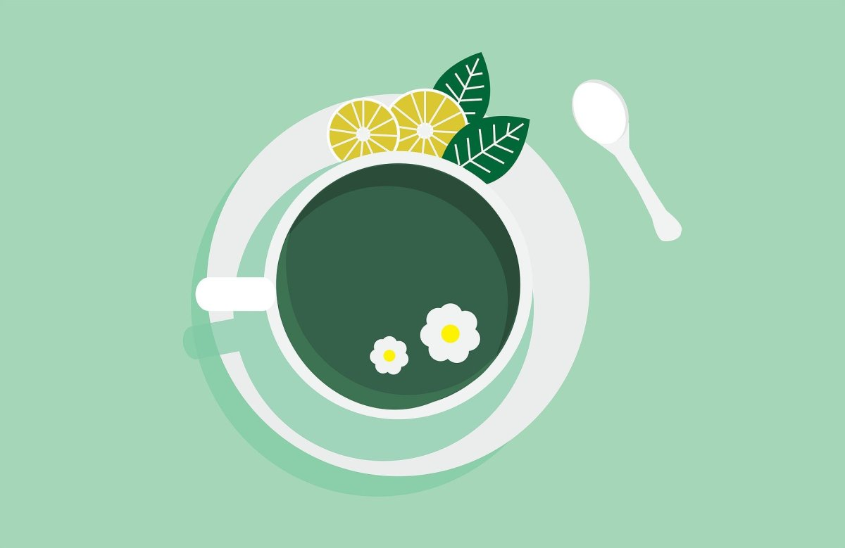 Drinking tea can be a great way to soothe your mind when it's in overdrive.