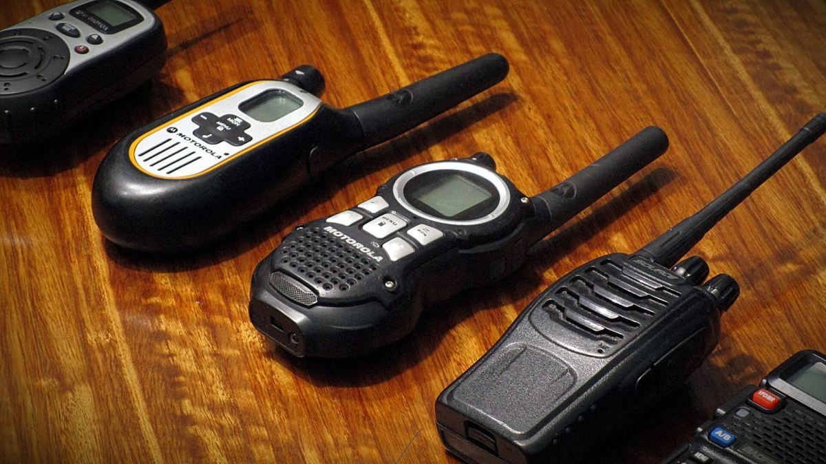 A selection of two-way radios to choose from