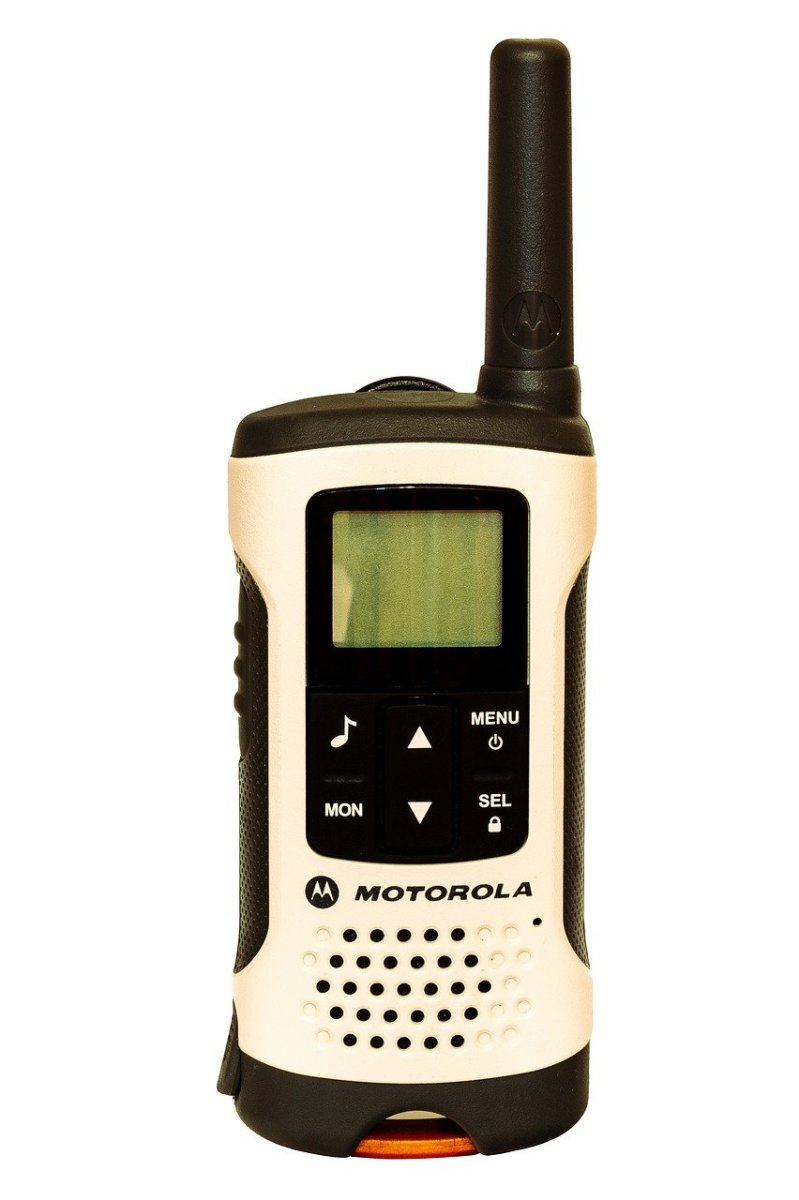 Example of an FRS radio by Motorola.