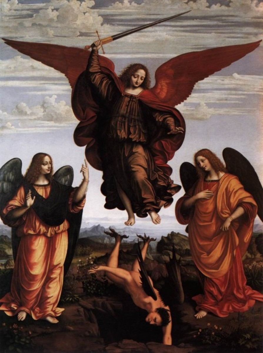 Some people believe in angels and other spiritual things as demons that fight each other, but what we believe may or may not be right, as it is more likely that if they exist they are not at war like as we describe them.