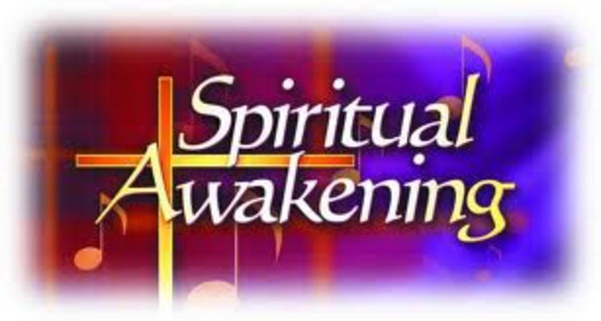 During our lives we might go through a spiritual awakening and we will see many religious things in a different way, just like what I have written in the text beside.
